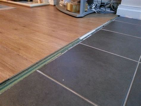 kitchen divider ideas flooring how can i transition between these floors