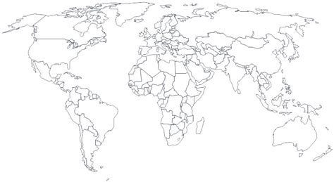 world map black and white world travel diary