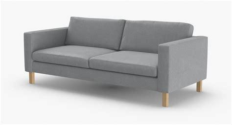 scandinavian seater sofa model turbosquid