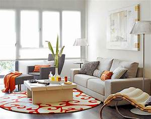 5 colorful round living room rugs for Round rugs for living room