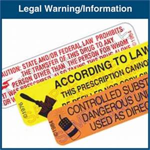 auxiliary labels legal warning With auxiliary labels for drugs