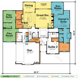 master suite floor plans house plans with two master suites design basics