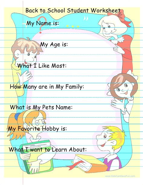 46 best images about back to school activities printables