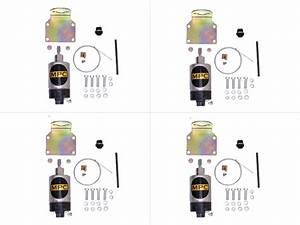 Shaved Handle Door Popper 4 Door Kit 80 Lb W   2 Remotes