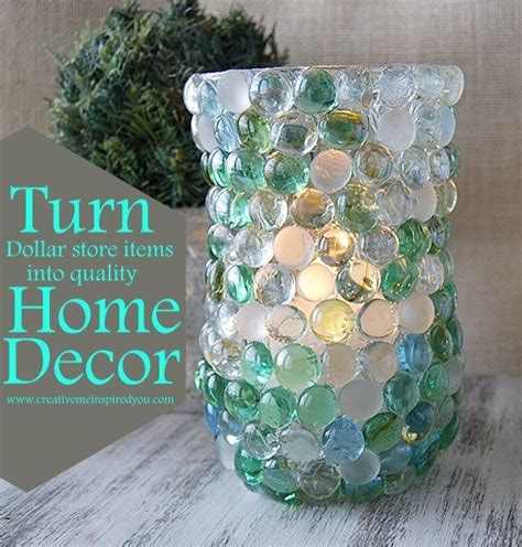 turn dollar store items  great decor craft ideas