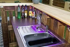Paletten Bar Kaufen : palettenbar cocktailbar skyline von paletten style homify ~ Markanthonyermac.com Haus und Dekorationen