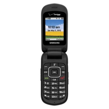 target cell phones verizon samsung u365 pre paid cell phone black target