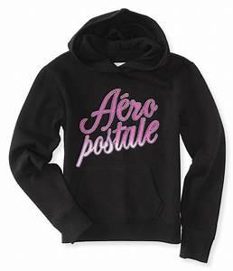 Aeropostale Womens Foil Script Hoodie Sweatshirt | eBay