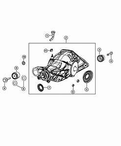 2012 Jeep Grand Cherokee Differential  Rear Axle  Module