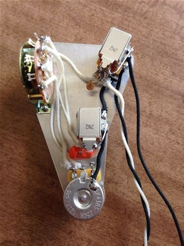 Tones Ultimate Wiring Harness Upgrade For Hss