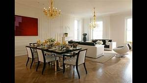 Modern, Living, Room, Dining, Room, Combo, Decorating, Ideas, 2019