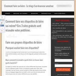Faire Ses étiquettes : personnalis es pearltrees ~ Melissatoandfro.com Idées de Décoration