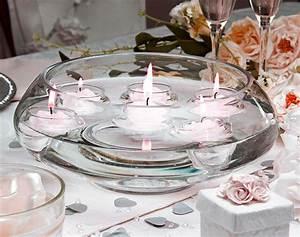Bougie Pas Cher En Gros : coupelle en verre ronde bougies flottantes vases coupelles verre mariage ~ Teatrodelosmanantiales.com Idées de Décoration