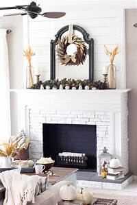 good looking mantel decoration ideas 30+ Amazing fall decorating ideas for your fireplace mantel