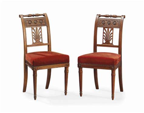 paire de chaises d 39 epoque directoire vers 1800