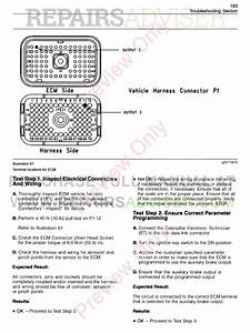 Cat 3406e  C 12  15  16  18 Engines Troubleshooting Manual Pdf