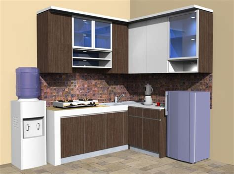 Kitchen Set Minimalis Moduler  Modular Minimalist Kitchen