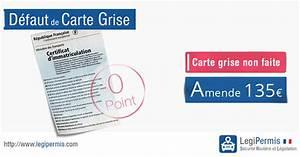 Code Moteur Carte Grise : amende d faut de carte grise legipermis ~ Maxctalentgroup.com Avis de Voitures