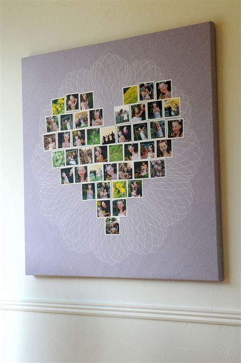 best 25 heart shaped photo collage ideas on pinterest