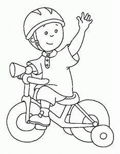 Desenho De Criana Andando De Bicicleta Para Colorir