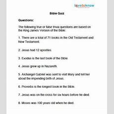 Bible Trivia Quiz Questions  Senior Projects  Pinterest  Trivia, Quizes And Trivia Quiz Questions
