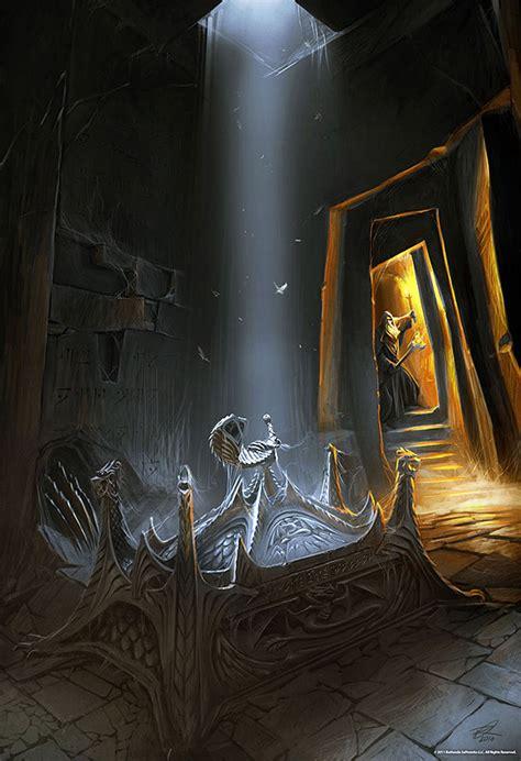 Elder Scrolls 5 Skyrim Concept Art Brobas