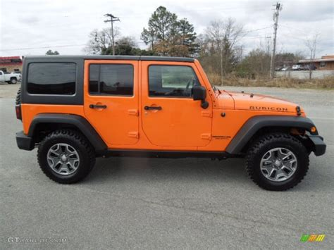 jeep wrangler orange 2017 crush orange 2013 jeep wrangler unlimited rubicon 4x4