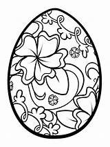 Egg Coloring Easter Pages Printable Recommended Mycoloring Holiday sketch template