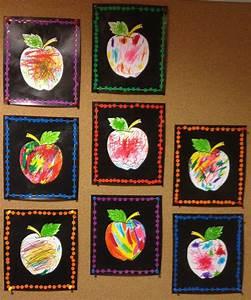 Bricolage Automne Primaire : arts visuels la maternelle pommes kindergarten art kindergarten art lessons et school art ~ Dode.kayakingforconservation.com Idées de Décoration
