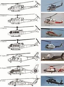 Shape Of Bell 412  F1   Bell 212  F2   Bell 214  F3   Bell