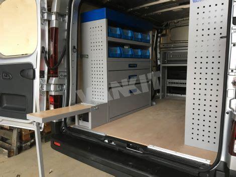 renault trafic swb full racking kit van racking vankit