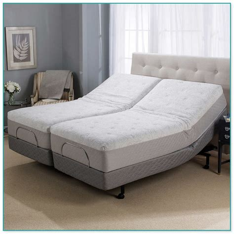 sleep number headboard sleep number split king adjustable bed
