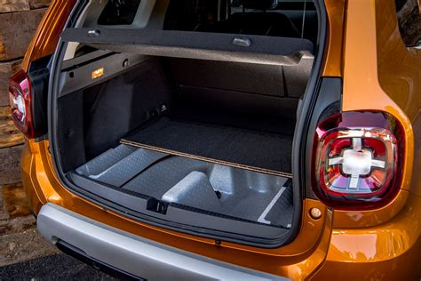 dacia duster  practicality boot space dimensions
