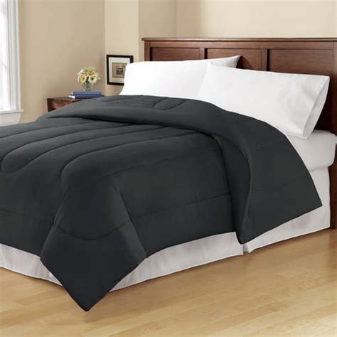 28053 mainstays bedding set mainstays solid reversible bedding comforter walmart