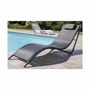 Bain De Soleil Gris : bain de soleil djerba aluminium textil ne gris 1622d ~ Dode.kayakingforconservation.com Idées de Décoration