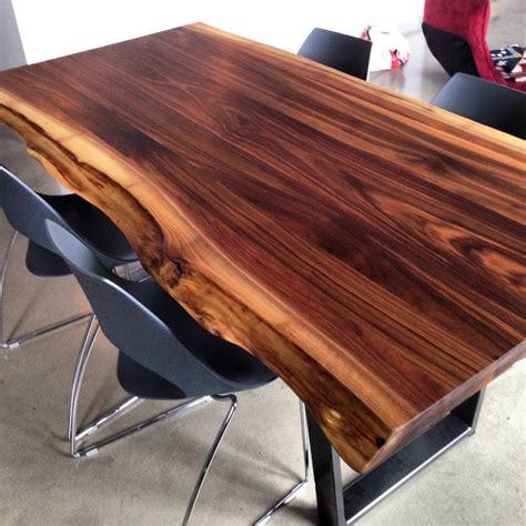 mobilier de bureau a vendre 2loons tables en noyer massif mikaza meubles modernes