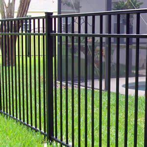 fence styles aluminum fences  designed