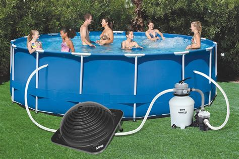 Game Solarpro Contour Solar Powered Dome Swimming Pool