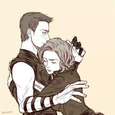 Hawkeye Black Widow Favorite Superhero Couple