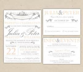 printable wedding invitations vintage wedding invitation templates best template collection