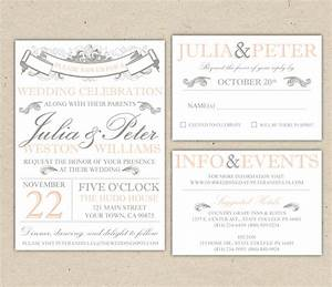beautiful wedding invitations printable free wedding With wedding invitations print sydney