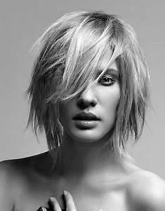 Coupe Carré Effilé Mi Long : coupe cheveux femme d grad effil court ~ Melissatoandfro.com Idées de Décoration