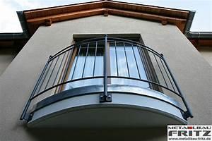 franzosischer balkon 08 03 schlosserei metallbau fritz With französischer balkon mit solarleuchten garten rund