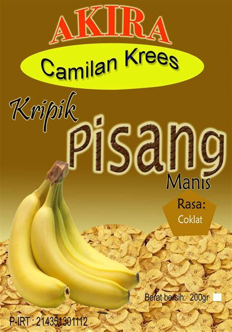 kripik pisang rasa grosir