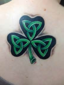 beautiful tattoo shamrock  trinity knots celtic