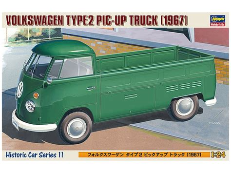 1/24 Volkswagen Type 2 Pick Up Truck By Hasegawa