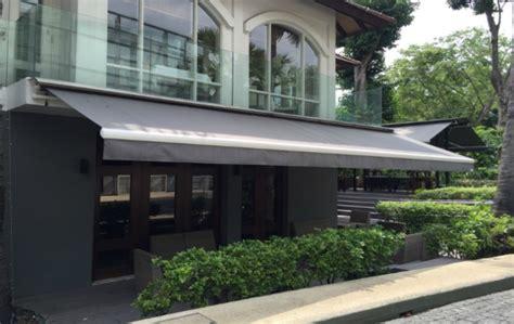retractable awning singapore elite deco