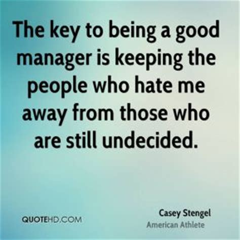 Being A Good Manager Quotes