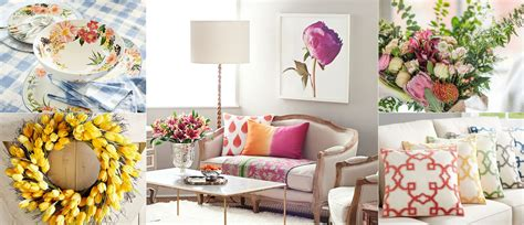 Spring Decorating Tips & Ideas