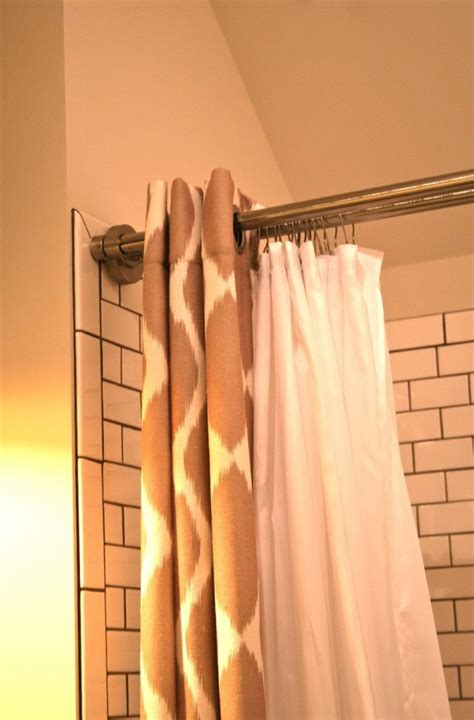 shower curtain tension rod keeps falling home design ideas